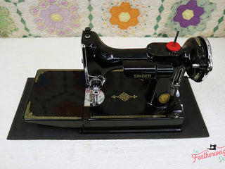 Load image into Gallery viewer, Rubber Table Mat for the Singer Featherweight 221 & 222 (Vintage Original)