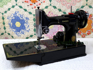 Load image into Gallery viewer, Singer Featherweight 221 Sewing Machine, AL169***