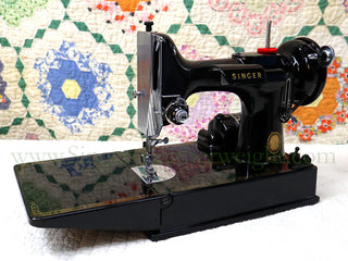Load image into Gallery viewer, Singer Featherweight 221 Sewing Machine, AL716***