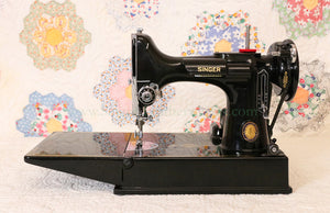 Singer Featherweight 221 Sewing Machine, Centennial: AJ930***