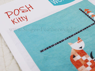"Load image into Gallery viewer, PATTERN, ""POSH Kitty"" Quilt by Sew Kind of Wonderful"