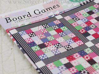 "Load image into Gallery viewer, PATTERN, ""Board Games"" Quilt by Kristyne Czepuryk Pretty by Hand"