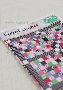 "PATTERN, ""Board Games"" Quilt by Kristyne Czepuryk Pretty by Hand"