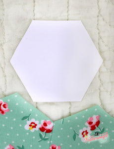 "Sue Daley 1"" Hexagon Papers For Paper Piecing"