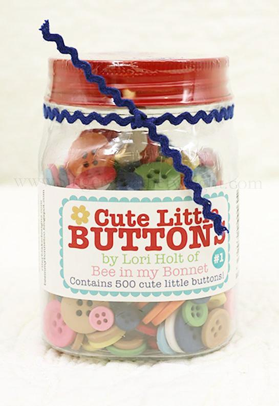 Cute Little Buttons, by Lori Holt of Bee in my Bonnet