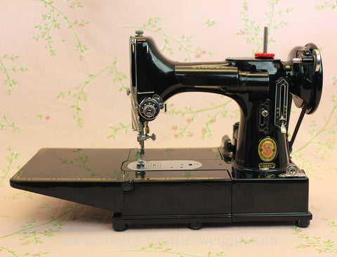 Singer Featherweight 40K Sewing Machine Red S ER40 The Gorgeous Singer Sewing Machine Music Box