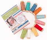 AURIFLOSS, 10 Spool Collection - Aurifil Embroidery Floss Thread by Lori Holt
