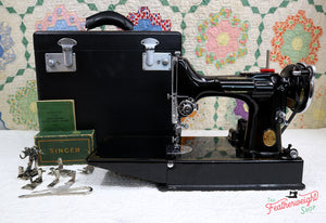 Singer Featherweight 221 Sewing Machine, AE789***