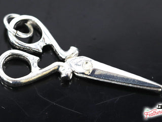 Load image into Gallery viewer, Jewelry, Sewing Scissors Sterling Silver, CHARM