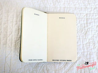 Load image into Gallery viewer, Notepads / Memo Books - Rare Singer (NOS) - (Vintage Original)