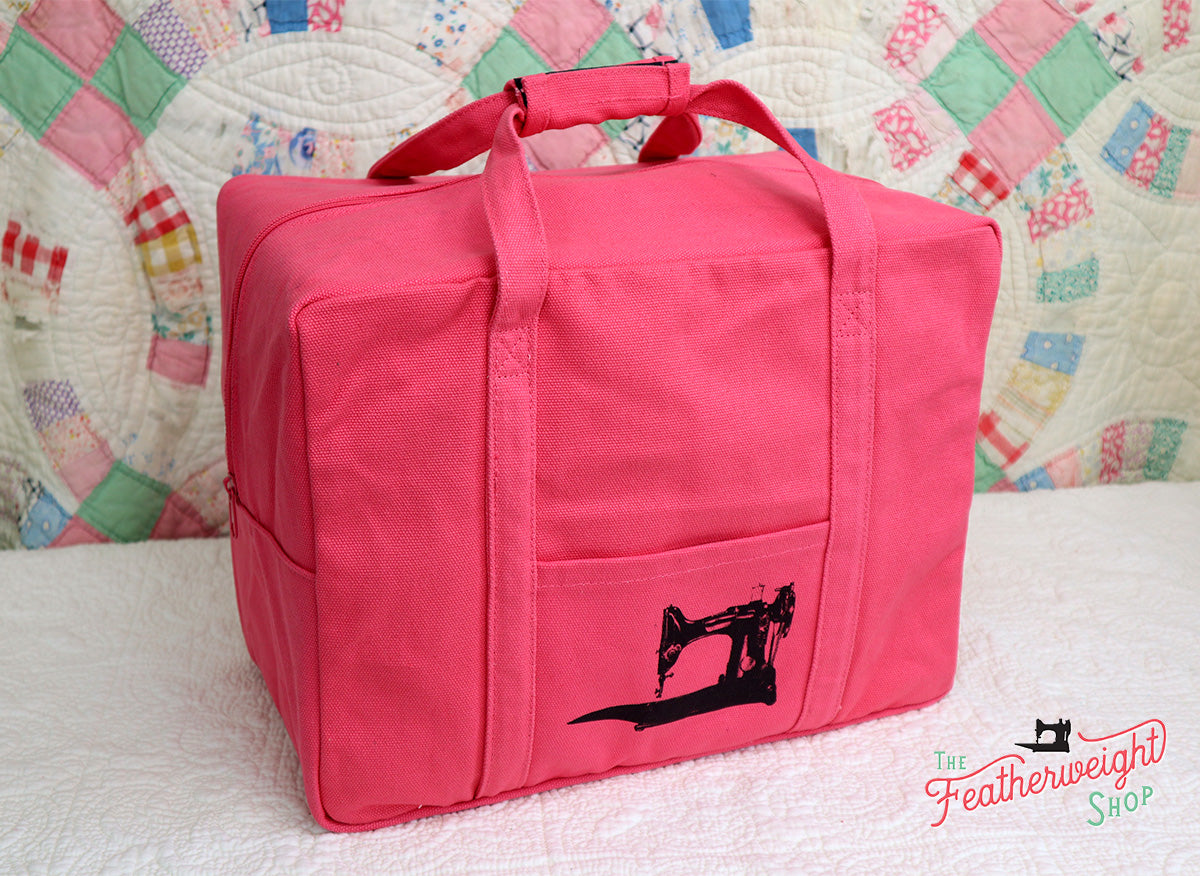 BAG, Tote for Featherweight Case or Tools & Accessories - BETTY'S STRAWBERRY PINK