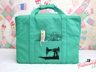 Load image into Gallery viewer, BAG, Tote for Featherweight Case or Tools & Accessories - JADE GREEN