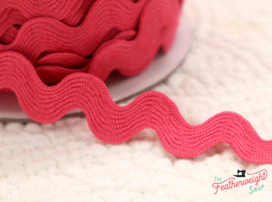"3/4"" Inch RIC RAC by Riley Blake - HOT PINK (sold by the yard)"