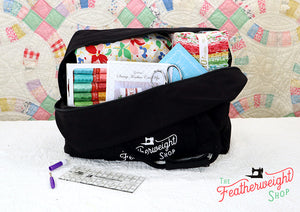 BAG, Tote for Featherweight Case or Tools & Accessories - BLACK