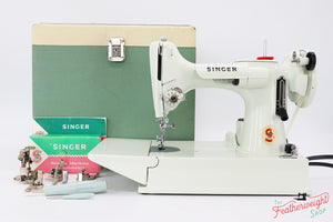 Singer Featherweight 221K Sewing Machine, WHITE EV991**