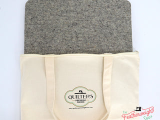 "Load image into Gallery viewer, Quilter's Pressing Fleece, 13"" x 13"" - 100% Wool  SMALL (New and Improved)"