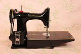 Singer Featherweight 221K Sewing Machine, Centennial EG706***