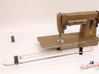 Load image into Gallery viewer, Sew Steady CLEAR Singer 301 Table Extension + BAG - LONGBED (SHIPS DIRECTLY FROM MANUFACTURER)
