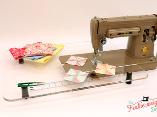 Load image into Gallery viewer, Sew Steady CLEAR Singer 301 Table Extension ONLY - LONGBED
