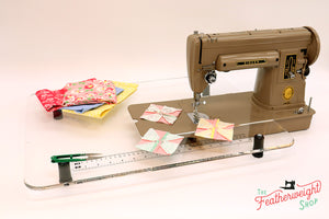 Sew Steady CLEAR Singer 301 Table Extension ONLY - LONGBED