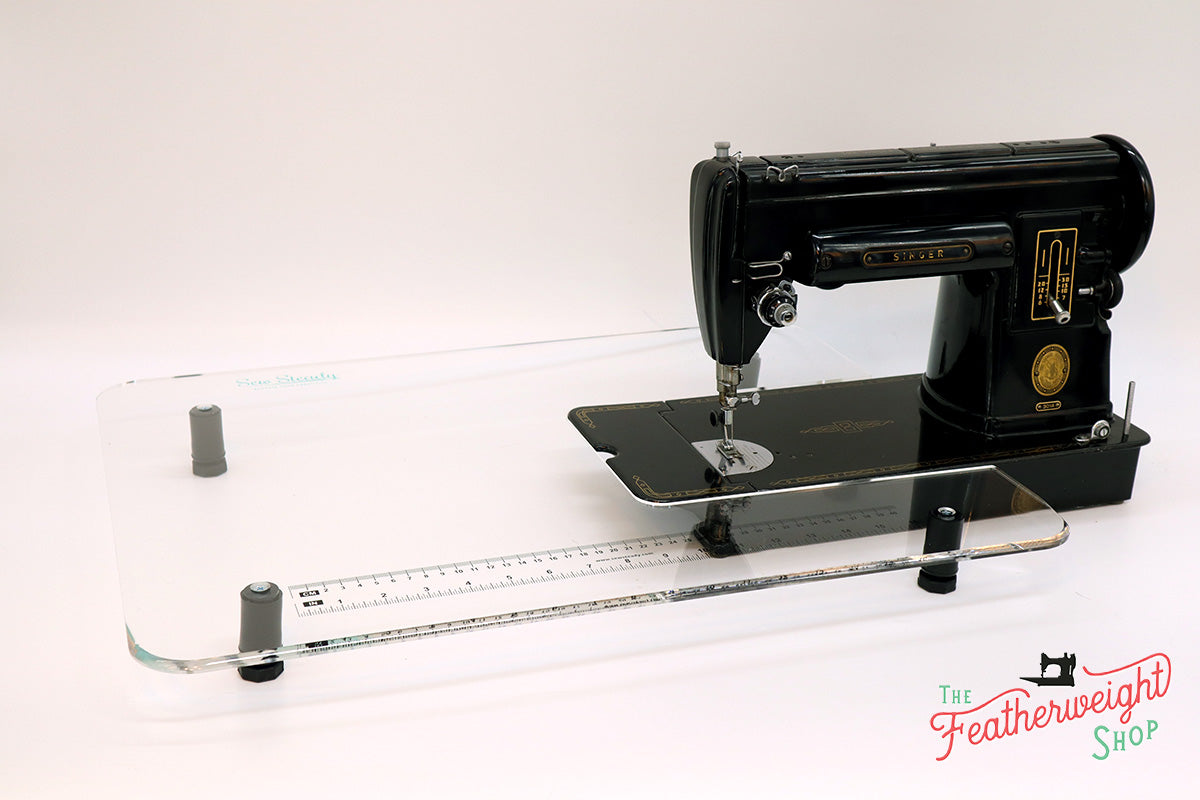 Sew Steady CLEAR Singer 301 Table Extension ONLY - SHORTBED