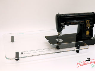 Load image into Gallery viewer, Sew Steady CLEAR Singer 301 Table Extension + BAG- SHORTBED (SHIPS DIRECTLY FROM MANUFACTURER)