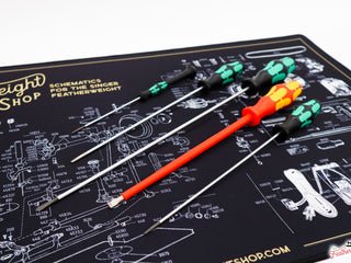 Load image into Gallery viewer, SCREWDRIVER, MAINTENANCE SET of 5, Long, Safety, Mid-Length, Small, & Motor