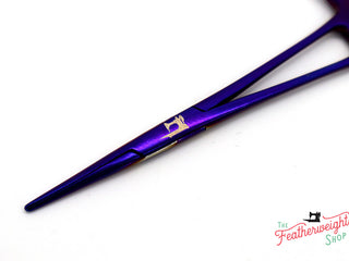 Load image into Gallery viewer, Thread-O-Stat, DARK LILAC PURPLE Featherweight Thread Grabber