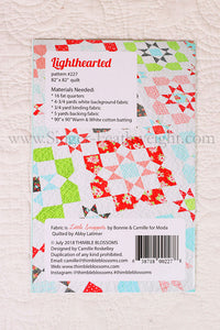 "PATTERN, ""Lighthearted"" by Camille Roskelley for Thimble Blossoms"