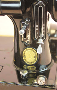 Singer Featherweight 222K Sewing Machine