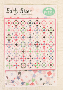 "PATTERN, ""Early Riser"" Quilt by Kristyne Czepuryk Pretty by Hand"