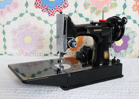 Singer Featherweight 221 Sewing Machine, AL196*** - Original Provenance!!!