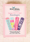 "Bandages, by Riley Blake Designs ""Sewing Mends The Soul"""