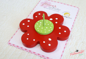 Flower Spindle for Binding Baby
