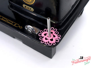 Load image into Gallery viewer, Spool Pin Doily - TATTED (MINI)