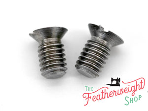 Screw, Singer Featherweight Stitch Length Indicator Screws - Set of 2 (Vintage Original)