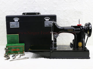 Load image into Gallery viewer, Singer Featherweight 221 Sewing Machine, AL419***