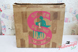 Cardboard Singer Box for 222K Featherweight - (Vintage Original)