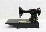 Singer Featherweight 222K Sewing Machine EK634*** GOLD PLATED!!!