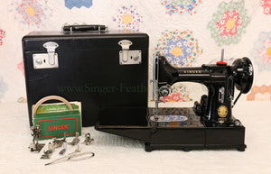 Singer Featherweight 222K Sewing Machine EJ9130**