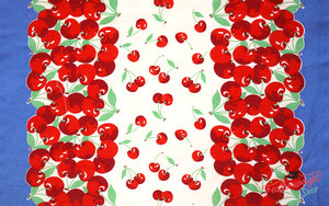 Fabric, 16-Inch Toweling by MODA - VERY CHERRY (by the yard)