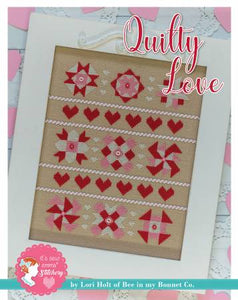 Counted Cross Stitch, QUILTY LOVE Pattern by Lori Holt