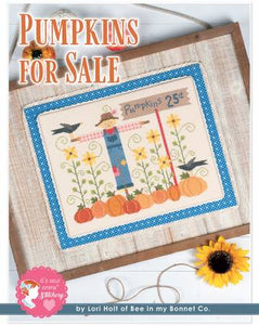 Counted Cross Stitch, PUMPKINS FOR SALE Pattern by Lori Holt