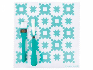 Load image into Gallery viewer, Oh Sew Clean Brush and Cloth Set by It's Sew Emma