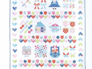 Load image into Gallery viewer, PATTERN BOOK, Pretty Playtime (Children's Quilts) by Elea Lutz