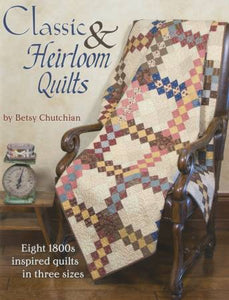 PATTERN BOOK, Classic & Heirloom Quilts