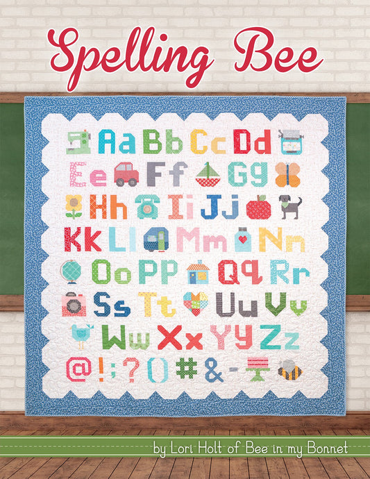 PATTERN BOOK, Spelling Bee by Lori Holt