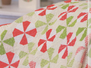 Load image into Gallery viewer, PATTERN BOOK, Christmas Figs Block of the Month Sampler Quilt by Fig Tree & Co.