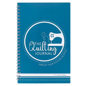 The Quilting Journal from It's Sew Emma