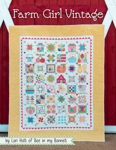 PATTERN BOOK, Farm Girl Vintage by Lori Holt